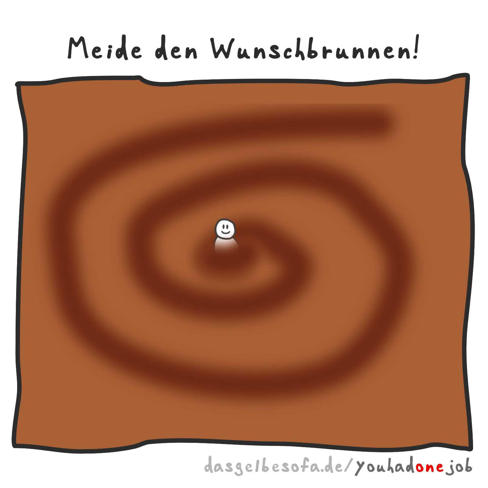 Wunschbrunnen   You Had One Job — Das Spiel