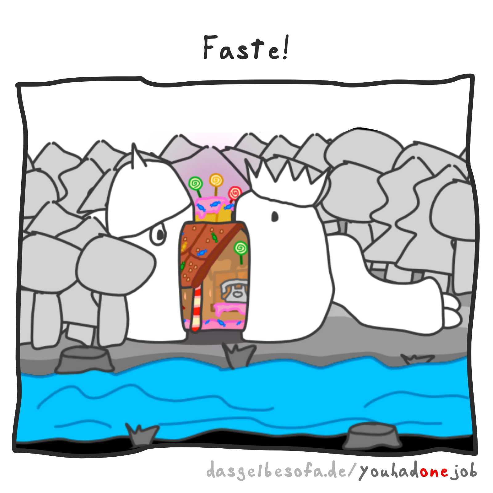 Fasten   You Had One Job — Das Spiel